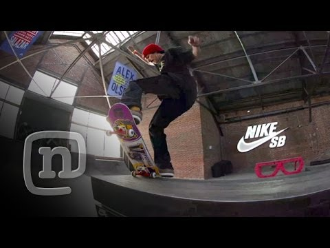 Skateboarder Anthony Estrada Destroys Private Nike Skatepark: NKA Project