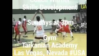 Coach Wilmer SD Las Vegas Nevada basketball sessions at the Tarkanian Basketball Academy