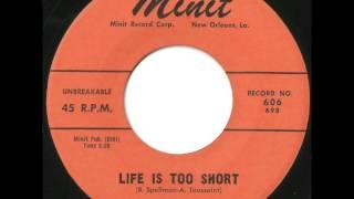 Benny Spellman - Life Is Too Short - Incredible RB Ballad