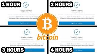 Earn FREE BITCOIN Every 60 MINUTES | EARN 1 BTC DAILY | (Bitcoin Mining Websites)