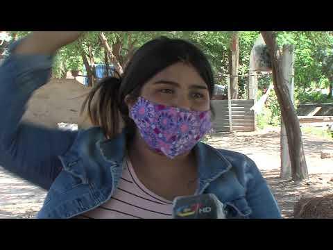 Video: Embarazada fue arrollada por un caballo en una carrera clandestina