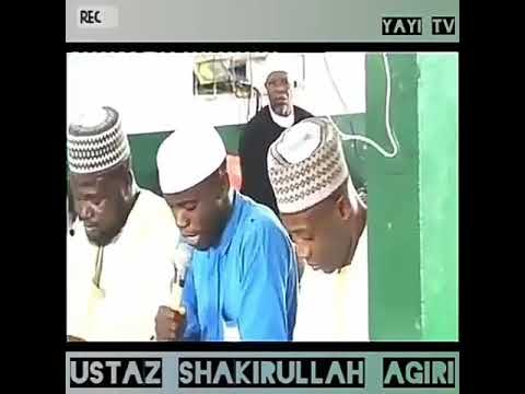 A  well recited qur'anic verses at the citadel of knowledge MARKAZ AGEGE LAGOS  NIGERIA by Ustaz Sha