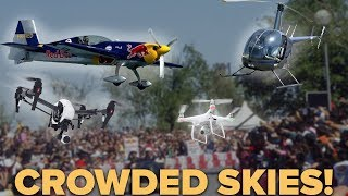 Flying your drone in crowded skies...
