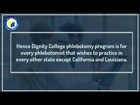 Online Phlebotomy Technician Certification Training ... - YouTube