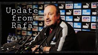 Rafa Benitez press conference news | Fringe players to get a chance?