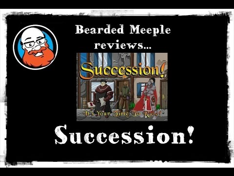 Bearded Meeple reviews Succession!