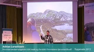 Toppmøte 2015 – Adrian Lorentsson