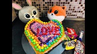 BAJKA GANG SŁODZIAKÓW 🦊🐰Słodziaki 🦊🐰 Walentynkowy tort dla Zuzi 🐰WALENTYNKI 💝💝💝💝💝💝