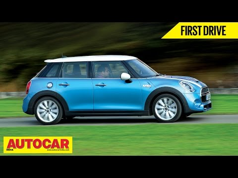 Mini Cooper Five Door S | First Drive Video Review | Autocar India