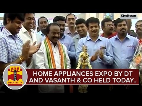 Home-Appliances-Expo-Organized-By-Daily-Thanthi-and-Vasanth-and-Co-held-at-Chennai--Thanthi-TV