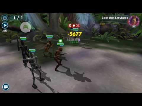 Video of droids beating galactic war in under 15 minutes (No healer