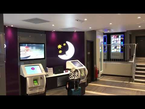 4* Review London Bromley Premier Inn Hotel NEW HD video walk through rooms