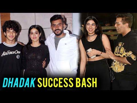 Dhadak Success BASH | Janhvi Kapoor, Ishaan Khatte