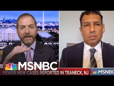 Teaneck Mayor: 'Somebody Who Has Army Experience' Needs To Provide Pandemic Response | MSNBC