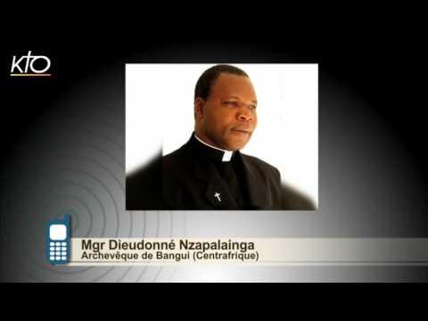 #PrayForParis Mgr Nzapalainga