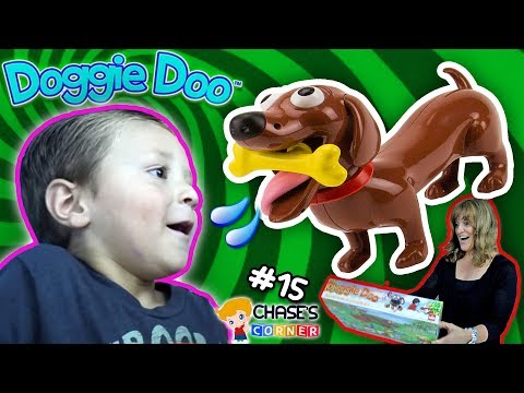 Chase's Corner: DOGGIE DOO Game W/ GRANDMA Surprise Bag - The Goofy Puppy Dog (#15) | DOH MUCH FUN