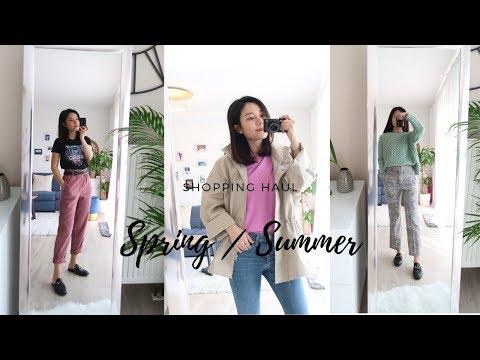 春/夏服饰购物分享 | Spring Summer Shopping Haul | & other stories | ZARA | Uniqlo|  Mango| 梨形身材找到了超好穿的神裤
