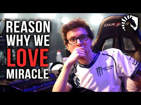 Reason Why We Love Best Player in THE WORLD Liquid.Miracle- Dota 2