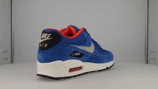 buy popular c9b42 1eefa Nike Air Max 90 Essential Dark Electric Blue Sneakers