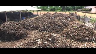 Africompost : production de compost à Lomé