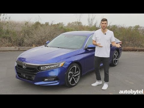 2018 Honda Accord Sport Test Drive Video