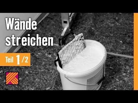 Version 2013 Wände streichen Kapitel 1: Planung & Untergrundvorbereitung | HORNBACH Meisterschmiede