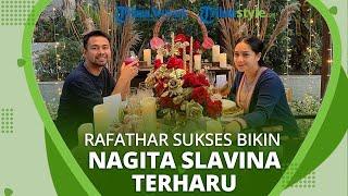 Kejutan Ulang Tahun Pernikahan dari Rafathar Sukses Membuat Nagita Slavina Terharu