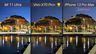 Apple iPhone 13 Pro Max Vs Vivo X70 Pro+ Vs Xiaomi Mi 11 Ultra Camera Comparison