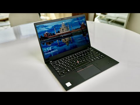 External Review Video JwxZ9920cuU for Lenovo ThinkPad X1 Carbon Gen 7 Laptop