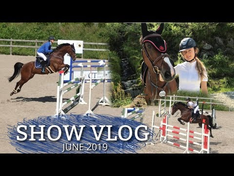 HORSE SHOW VLOG |  High jumps beneath the sun [June'19]