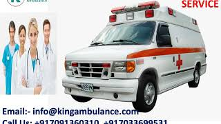 Get ICU-Setup Road Ambulance Service in Ranchi and Bokaro by King