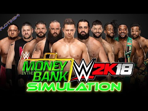 WWE Money in the Bank 2018 - Ladder Match Simulace WWE 2K18