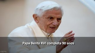 Papa Bento XVI completa 90 anos