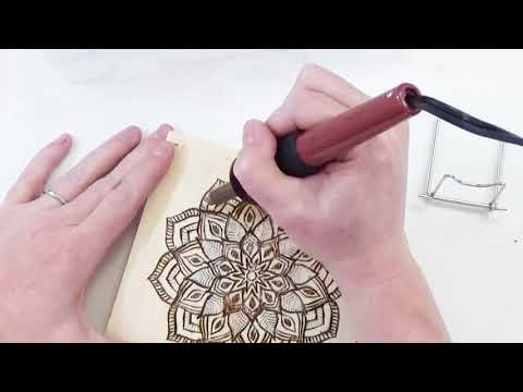DIY Wood Art using Wood Burning Tool