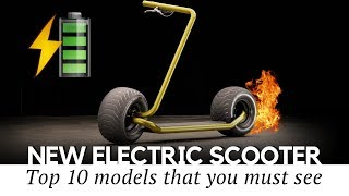 10 New Electric Kick Scooters On Sale in 2019 (Upcoming and Trusted Models)