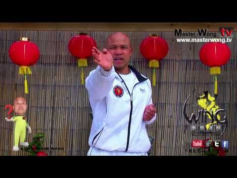 wing chun basics - How to do palm strike, Lesson 5