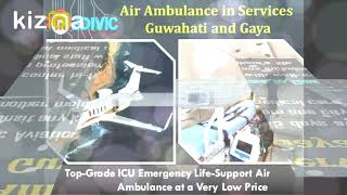 Select the Most Authentic Air Ambulance Services in Guwahati by Medivic
