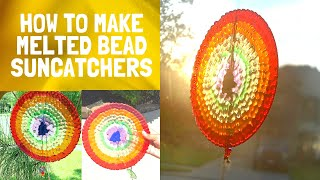 How To Make An Eye Catching MELTED BEADS SUNCATCHERS DIY
