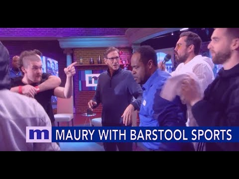 Maury's Social Smackdown with Barstool Sports   The Maury Show