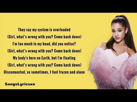 Ariana Grande - Get Well Soon (Lyrics)