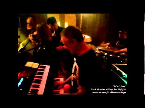 """""""I Can't See"""" by Rock Monster, live at the Vinyl Bar 11/7/14"""