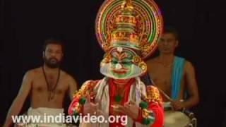 Kathi - Kathakali Make-up
