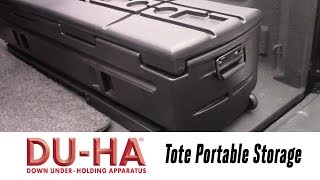 In the Garage™ with Total Truck Centers™: DU-HA Tote Portable Storage