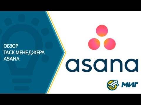 Видеообзор Asana