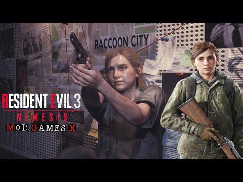 Ellie The last of us 2 - Resident Evil 3 Mods