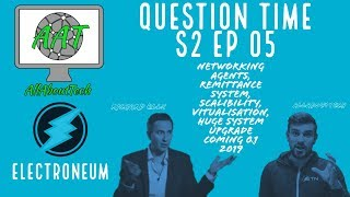 Electroneum Interview Part 5! Vendors Scalibility, Virtualization, HUGE Upgrade coming!