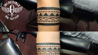 Maori Armband Tattoo - Timelapse