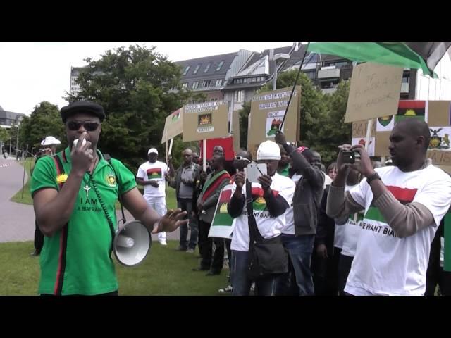 Biafrans in Germany/Düsseldorf Nr.3
