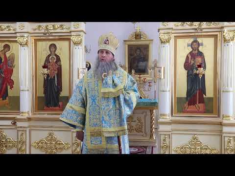 В праздник Тихвинской иконы митрополит Даниил совершил Литургию в Порт-Артурском храме Кургана