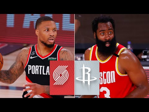 Houston Rockets vs. Portland Trail Blazers [FULL HIGHLIGHTS] | 2019-20 NBA Highlights